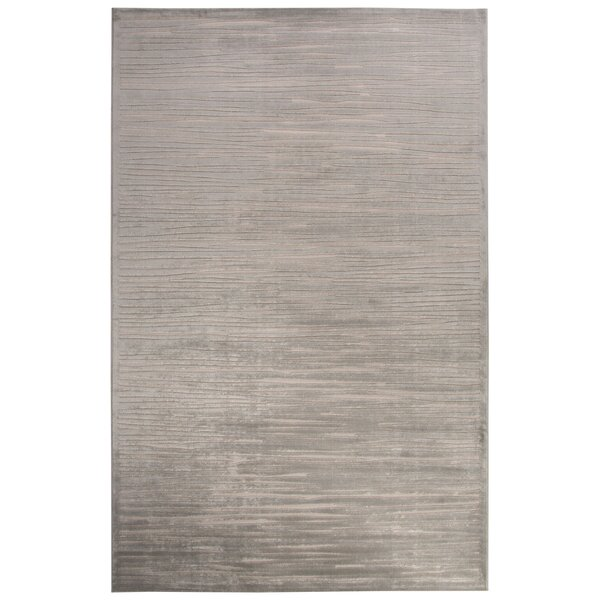 Pariaman Light Gray/Ivory Area Rug by Wrought Studio