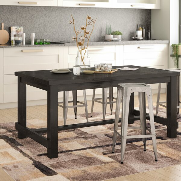 Bamey Wood Dining Table by Trent Austin Design