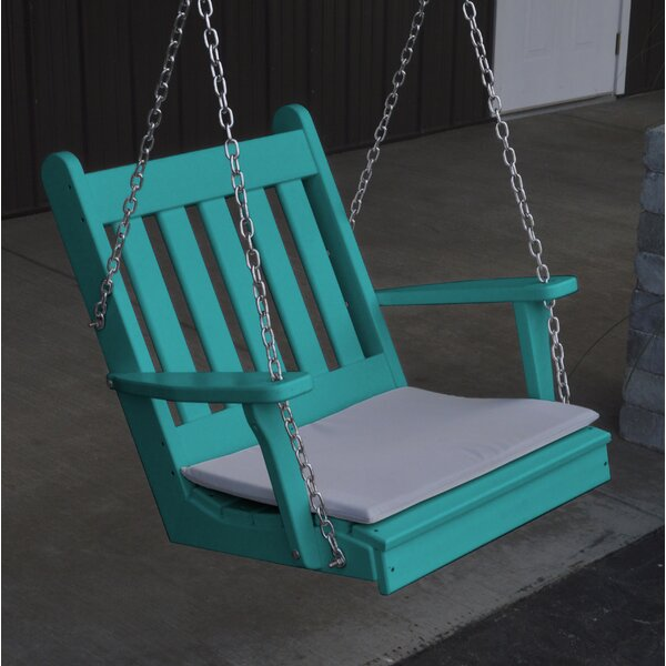 Marcelino Traditional English Porch Swing by August Grove
