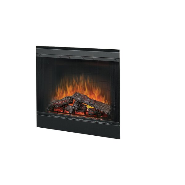 33 Glass Door for Built-In Electric Firebox by Dim