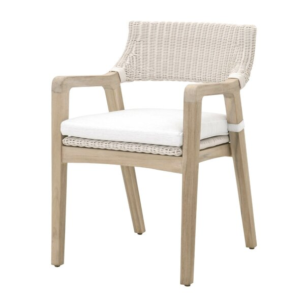 Yokley Patio Chair by Bungalow Rose Bungalow Rose