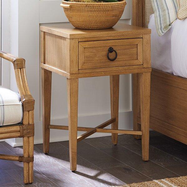 Newport 1 Drawer Nightstand by Barclay Butera