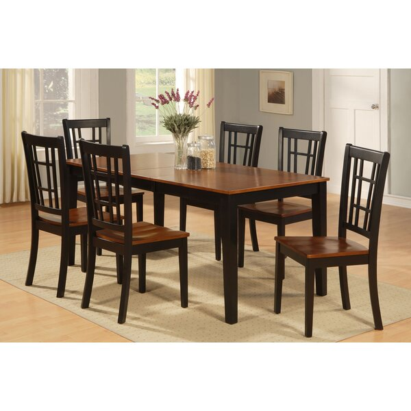 Pillar 7 Piece Extendable Dining Set by August Grove