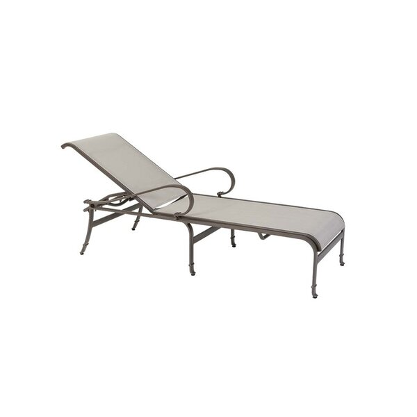 Torino Reclining Chaise Lounge by Tropitone Tropitone