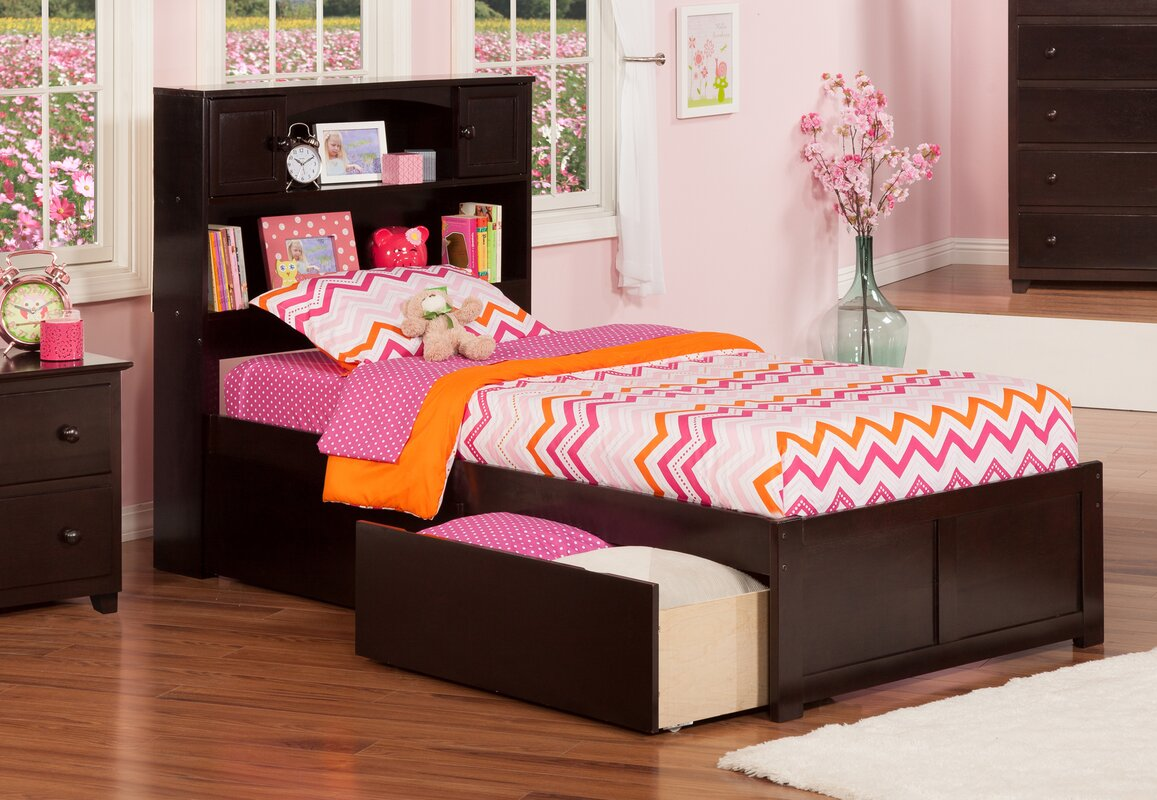 Harriet Bee Rottman Extra Long Twin Platform Bed With