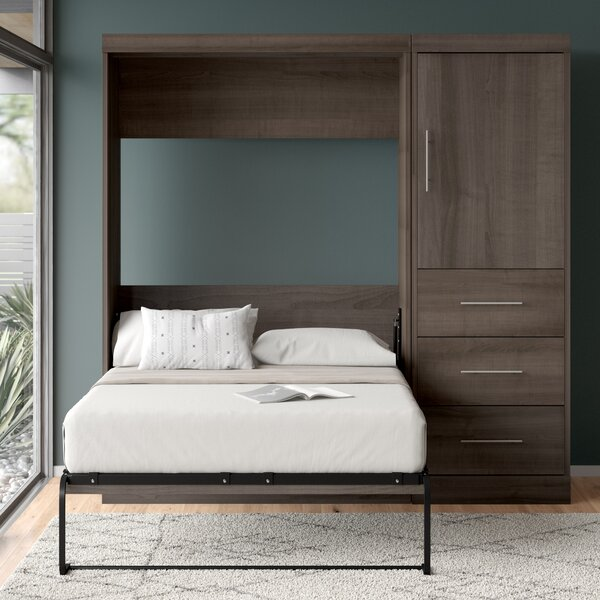 Truett Storage Murphy Bed by Brayden Studio