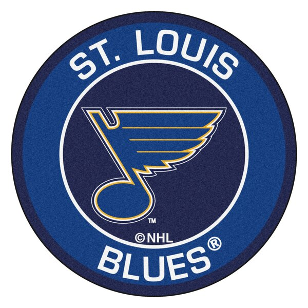 NHL - St Louis Blues Roundel Mat by FANMATS