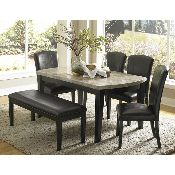 Nuccio 6 Piece Dining Set by Latitude Run