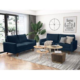 Gioconda 2 Piece Living Room Set by Ebern Designs