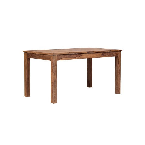 Allegro Extendable Solid Wood Dining Table by Mistana