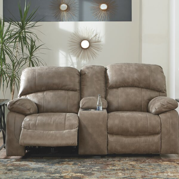 Excellent Reviews Luciene Reclining Loveseat by Red Barrel Studio by Red Barrel Studio