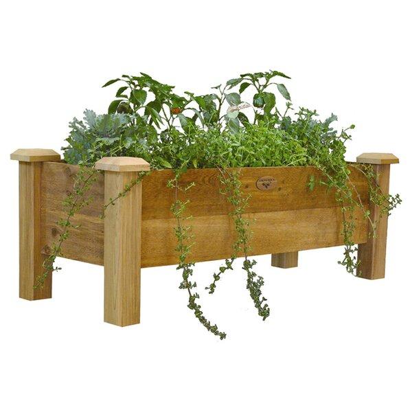 4 ft x 1.5 ft Wood Raised Garden by Gronomics