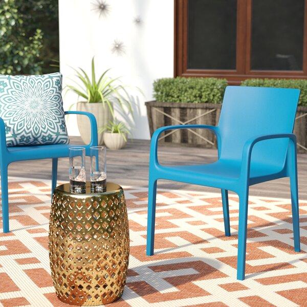Loggins Patio Dining Chair (Set of 2) by Brayden Studio Brayden Studio