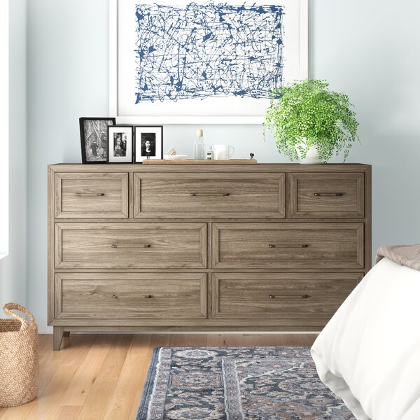 Bangor Alvarez 7 Drawer Dresser by Three Posts