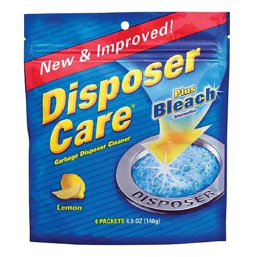 Disposer Care Garbage Disposal Cleaner by Mr. Scrappy