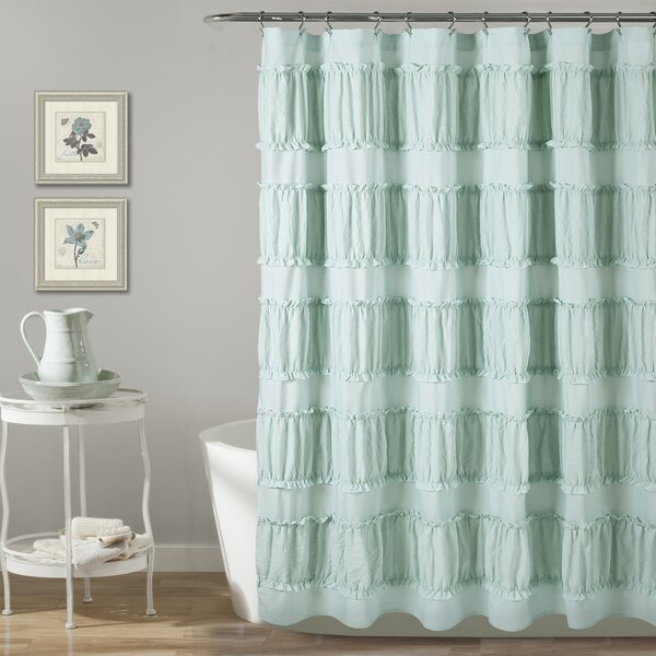 Keels Shower Curtain by Ophelia & Co.