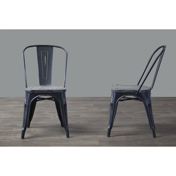 Tion Bistro Side Chair (Set of 2) by Union Rustic