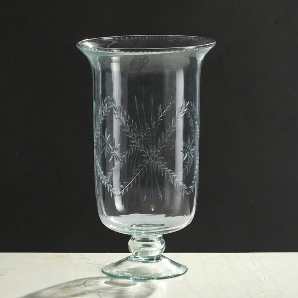 Mason Clear Glass Tall Vase by Rosalind Wheeler