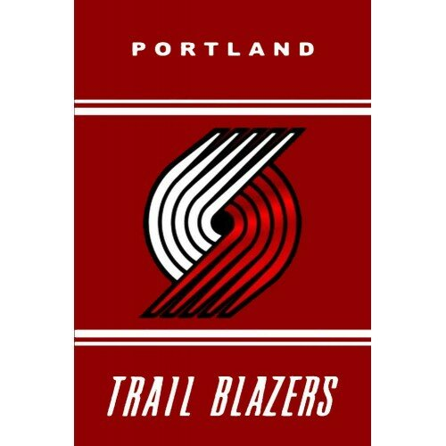 Portland Trail Blazers Polyester 3 x 5 ft. Flag by NeoPlex