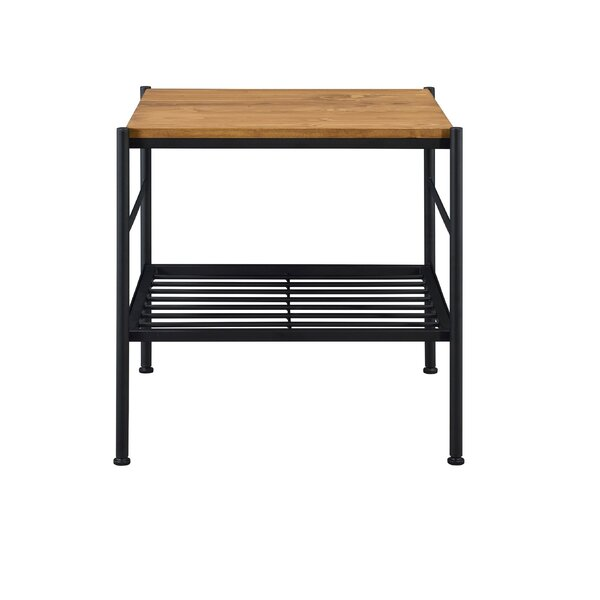 Schmit End Table with Storage by Union Rustic Union Rustic