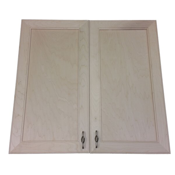 Village 31 W x 23.5 H Recessed Cabinet by WG Wood Products