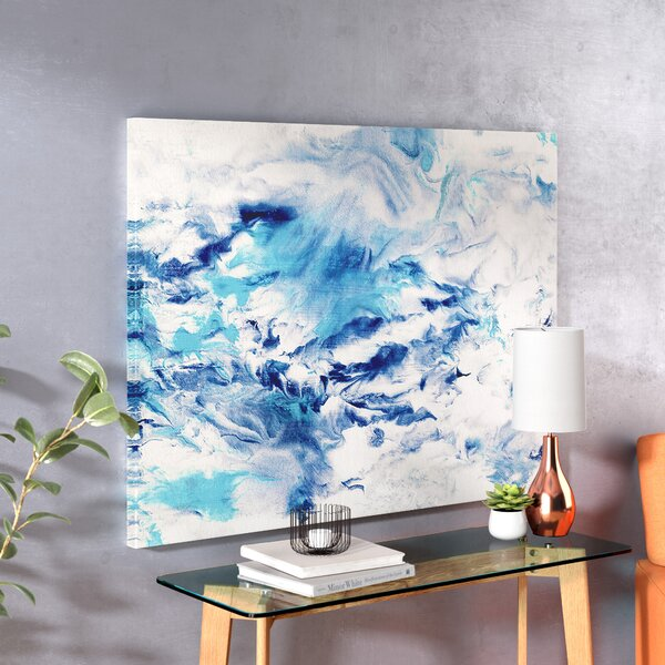 Bandai Asahi Oil Painting Print On Wrapped Canvas By Ebern Designs.