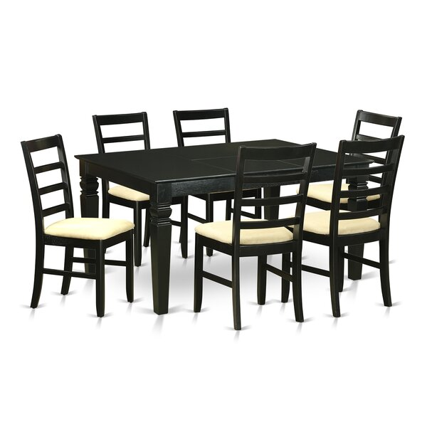 Peachy Weston 7 Piece Dining Set By Wooden Importers 2 Modern Home Interior And Landscaping Ologienasavecom