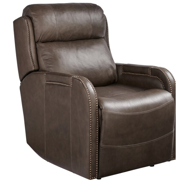 Dutson Leather 26 Power Wall Hugger Recliner W002824539