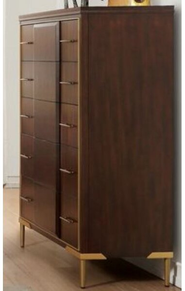 Taul 5 Drawer Chest by Mercer41