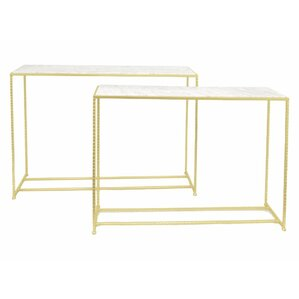 Kristian Metal End Table (Set of 2) by Everly Quinn