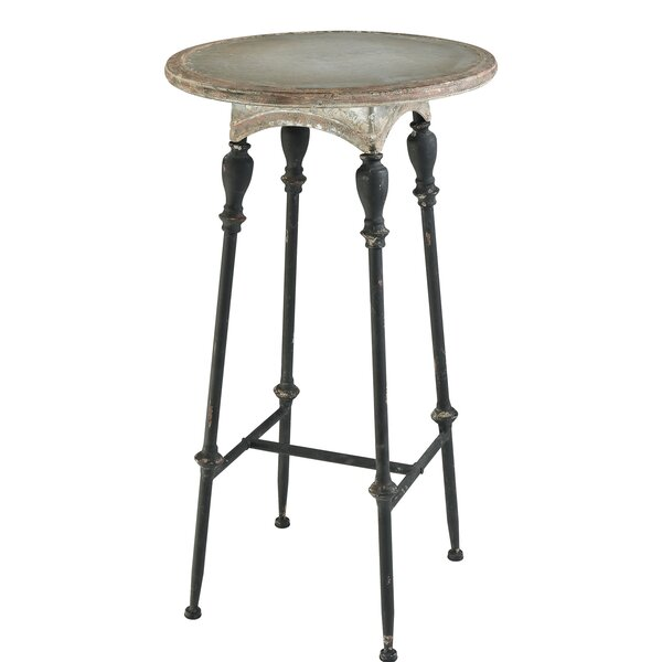 Varennes Metal Bar Table by Gracie Oaks