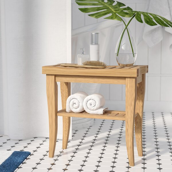 Cozumel Bamboo Accent Stool by Bay Isle Home