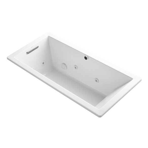 Underscore 66 x 32 Whirpool Bathtub by Kohler