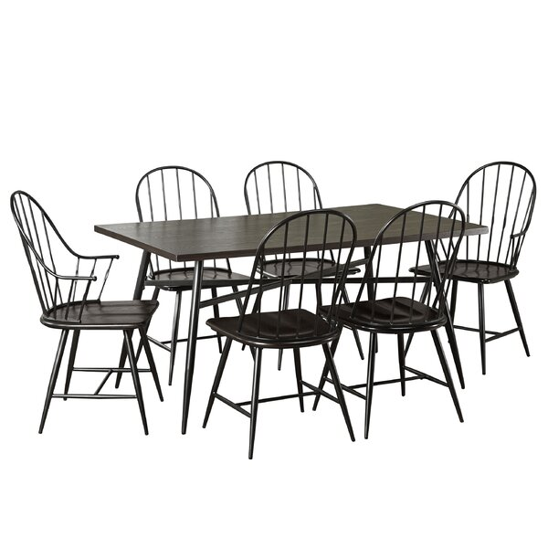 Poltimore 7 Piece Dining Set by August Grove