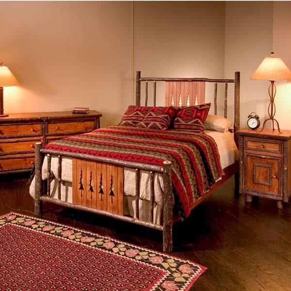 Nina Pine Tree Standard Bed by Loon Peak