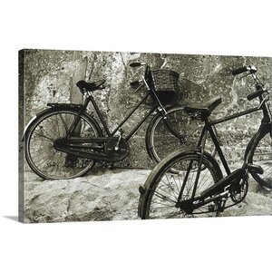 'Bike II' by Stuart Roy Photographic Print on Wrapped Canvas by Great Big Canvas