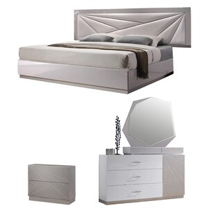 Ernesto Platform Configurable Bedroom Set