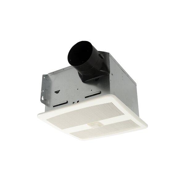 HushTone 80 CFM Energy Star Bathroom Fan With Motion Sensor Combo by Cyclone