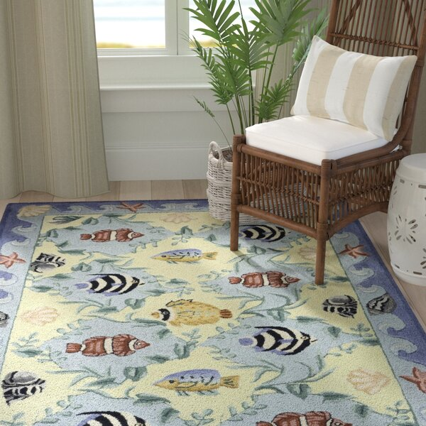 Tamins Handmade Blue Area Rug by Highland Dunes