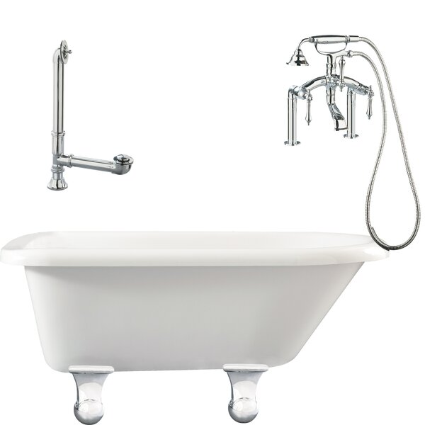 Brighton Roll Top Soaking Bathtub by Giagni