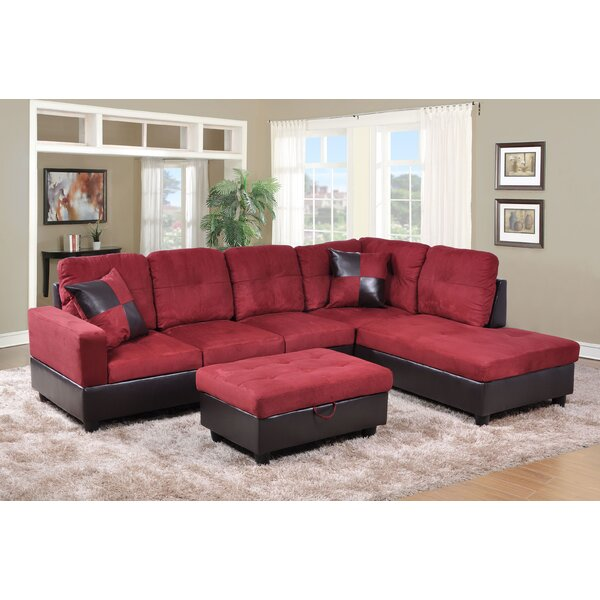Bergeronnes Sectional With Ottoman By Latitude Run