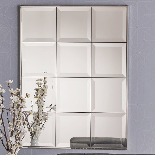Kerfoot Rectangular Tile Accent Mirror by Charlton Home