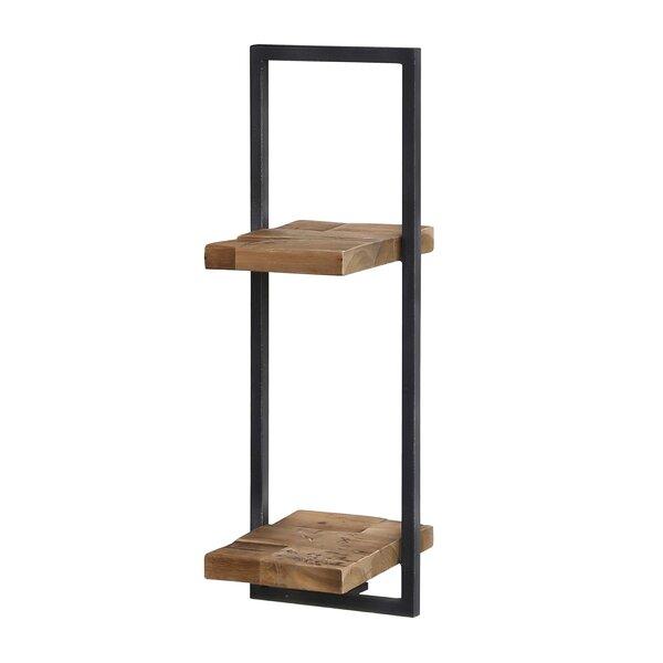 Langridge Metal Frame Wall Shelf by Union Rustic