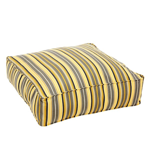 Catherine Metallic Square Indoor/Outdoor Floor Pillow by Darby Home Co