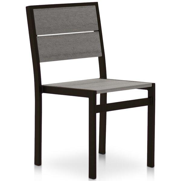 Gavin Stacking Patio Dining Chair by Orren Ellis Orren Ellis