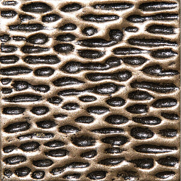 2 x 2 Treviso Deco Accent Tile in Bronze by Parvatile
