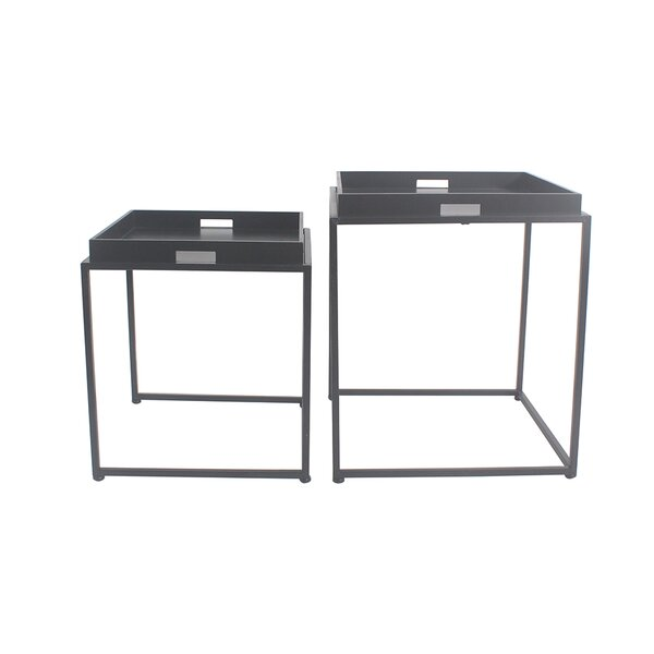 Vamyr 2 Piece Nesting Tables by Latitude Run