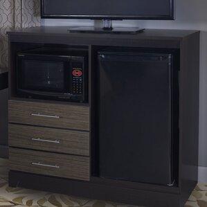 Mini Refrigerator Cabinet Bar | Wayfair