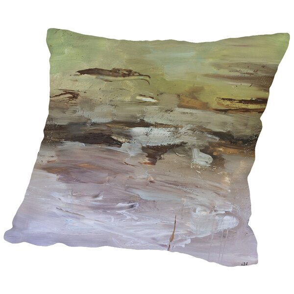 Awareness Throw Pillow by East Urban Home