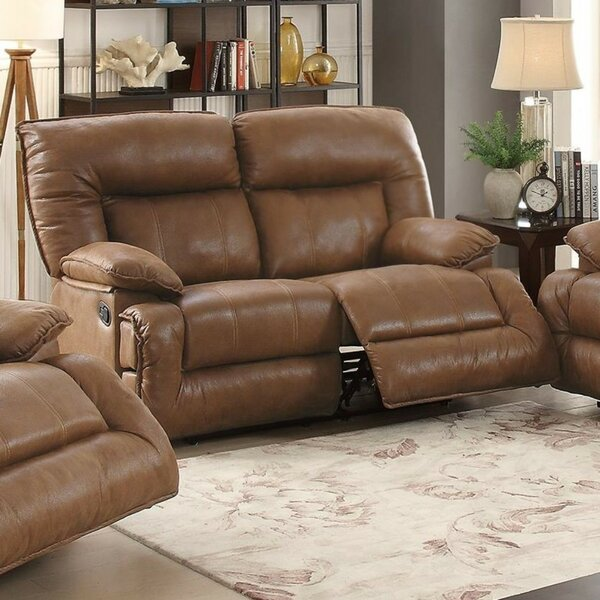Rozar Breathable Reclining Loveseat by Charlton Home